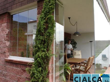 Candas lumon 016 cialca cortinas de cristal lumon for Acristalamiento de porches