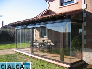 Cialca lumon porche horcas 2 cialca cortinas de cristal - Cierres de aluminio para terrazas ...