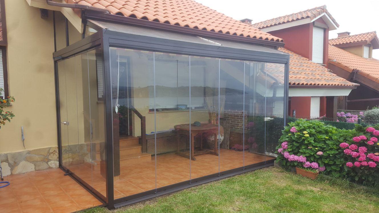 Porche cortina cristal archivos cialca cortinas de for Cortinas exteriores para porches