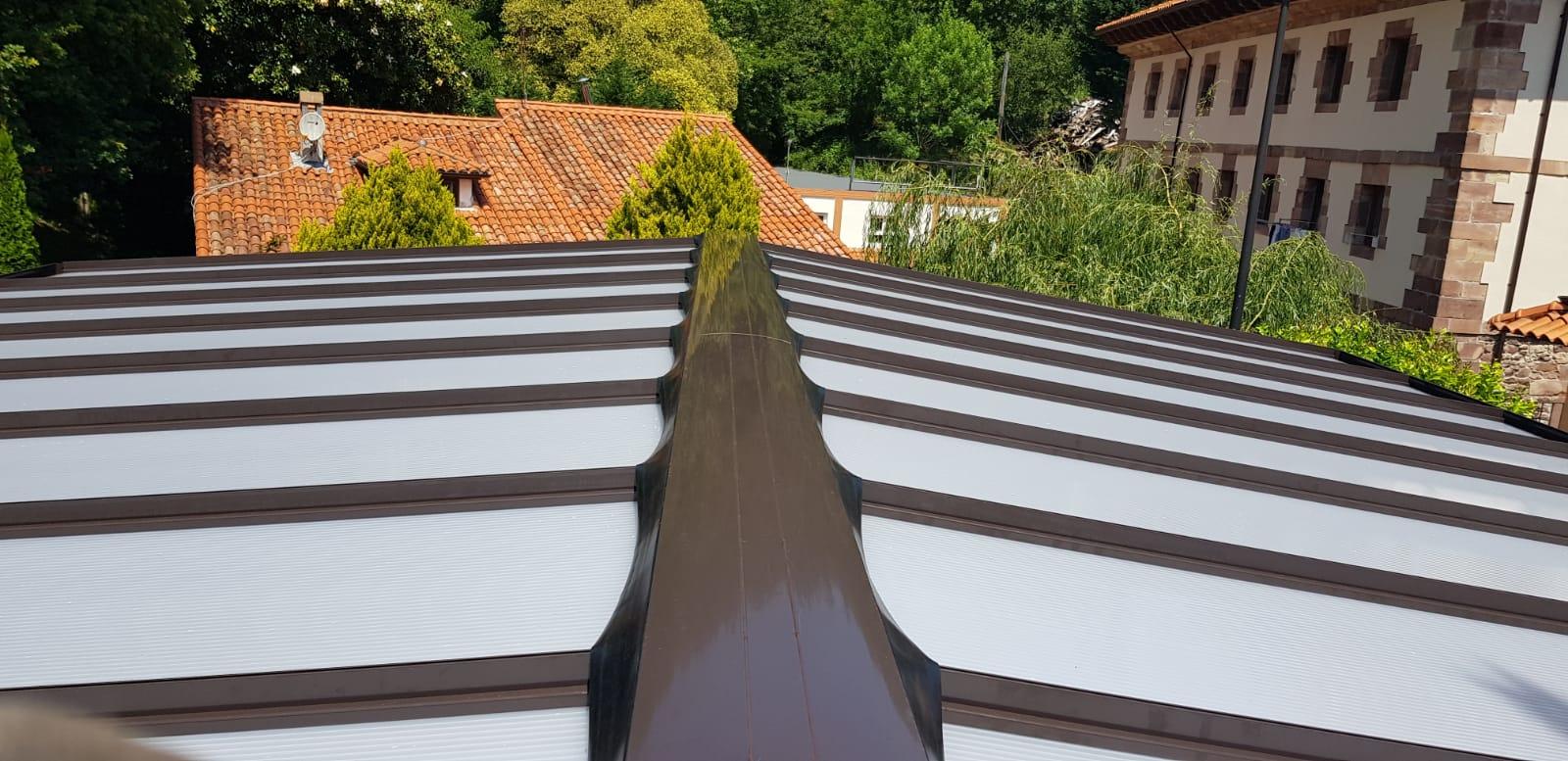 cialca techo terraza cristal hotel puente viejo